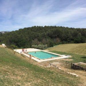 piscine maison hôtes